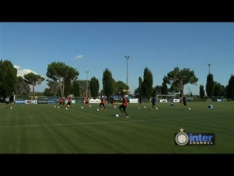ALLENAMENTO INTER REAL AUDIO 13 08 2013