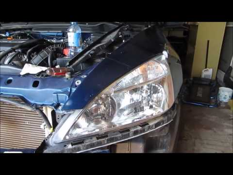 2006 Accord front fender removal