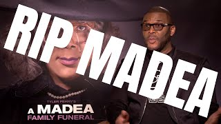 TYLER PERRY Interview for Madea A Family Funeral