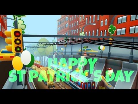 Subway Surfers: HAPPY ST PATRICK'S DAY