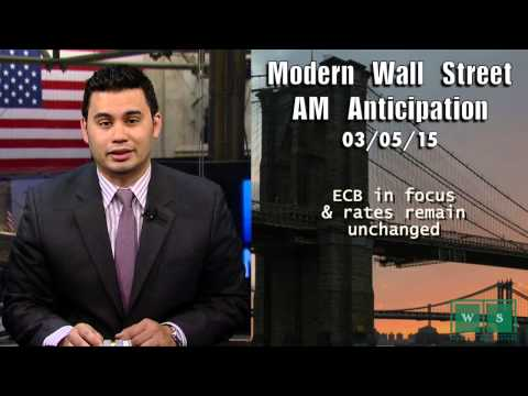 Modern Wall Street AM Anticipation: March 5, 2015