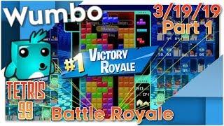 Tetris 99 - Flawless Stream 13 Win Streak - Wumbo 1035+ Wins