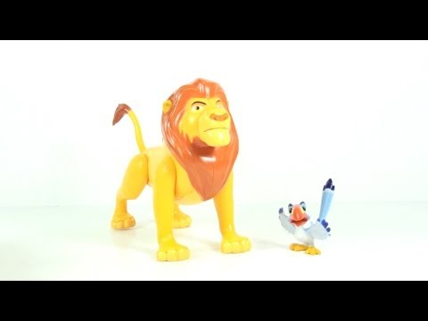 Video Review of The Lion King, Mufasa and Zazu (Walmart Exclusive)