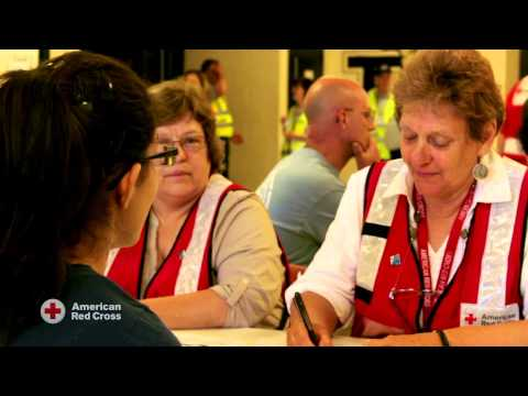 American School for the Deaf- Red Cross-Preparing for a Shelter
