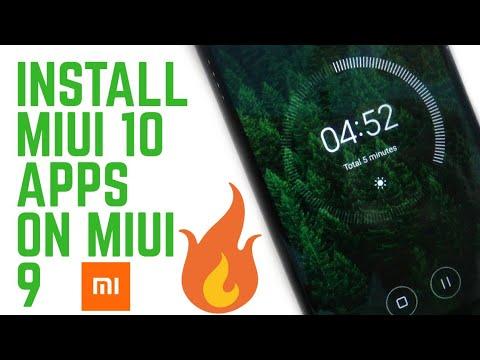Install Miui 10 Apps On Miui 9 Device!Miui 10 Camera,Clock,Calendar & Weather Apps