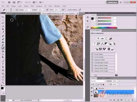 Как сделать в фотошопе тень у текста в фотошопе cs6