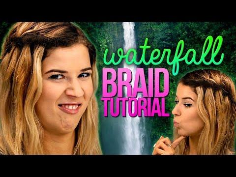 Waterfall Braid Tutorial by Meghan Rosette