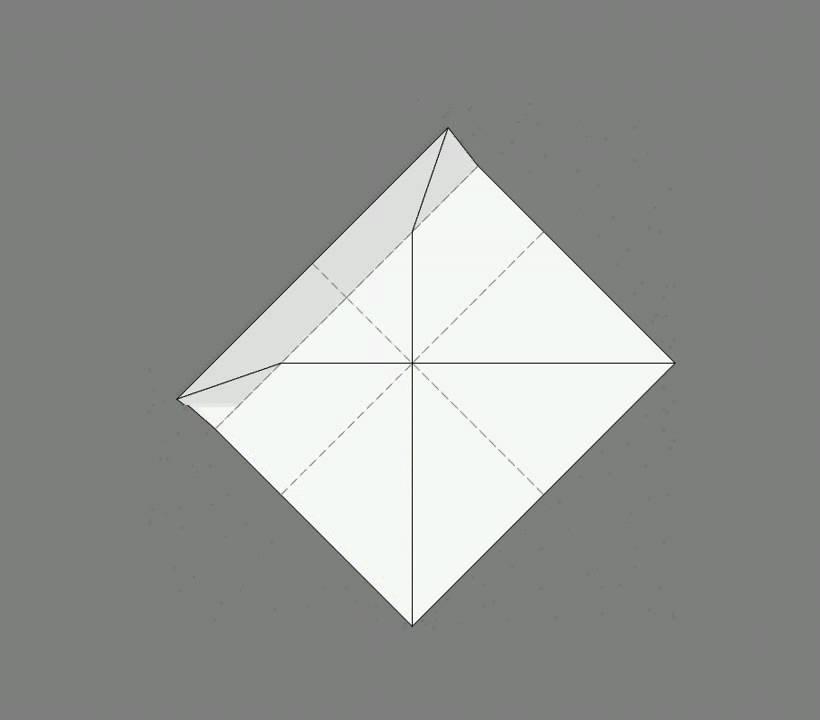 Оригами схема сборки box