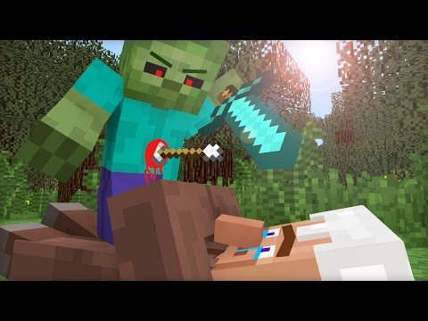 Villager Life II - Minecraft Animation