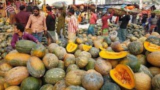 Most Amazing Big Vegetables Market Karwan Bazar Dhaka Bangladesh