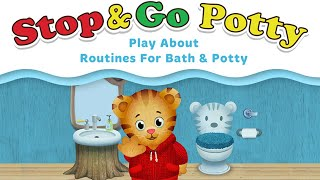 Daniel Tiger's Stop & Go Potty | Let's learn when to go potty!