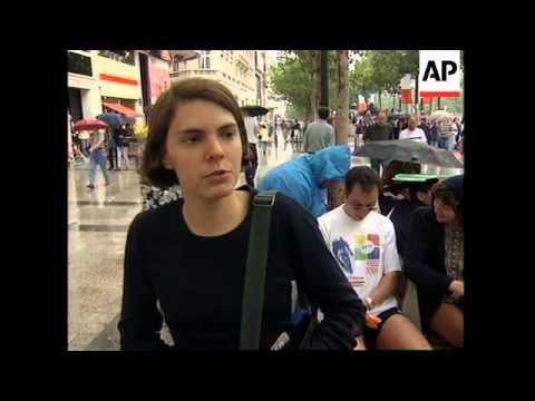 FRANCE: PARIS: MARCO PANTANI IS FIRST ITALIAN TO WIN TOUR DE FRANCE
