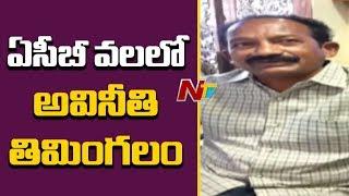 ఏసీబీ వలలో అవినీతి తిమింగలం..! | ACB Arrested Visakha Co-Operative Registrar Mallikarjuna Rao | NTV