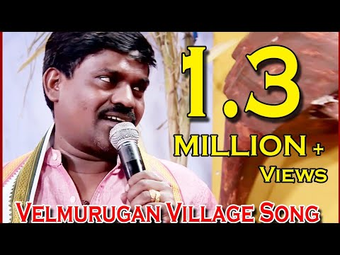 VELMURUGAN LIVE PERFORMING IN Paththumaasam SONG