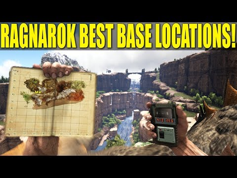 NEW DLC! RAGNAROK BEST BASE LOCATIONS! PC/XBOX/PS4 (How Not to Be A Noob) - Ark:Survival Evolved