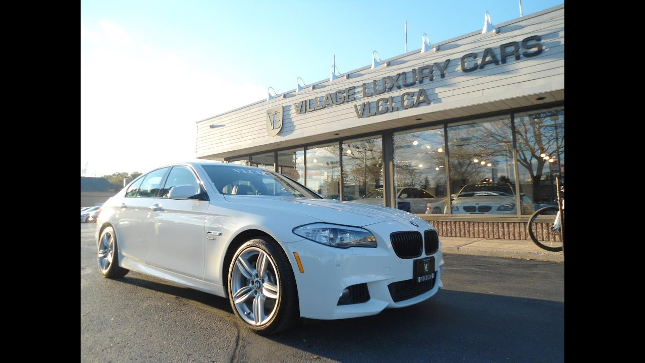 2012 Bmw 535i M Sport Xdrive In Review Village Luxury