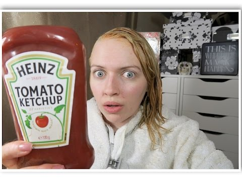 Get Rid Of Green Hair Easily With Ketchup  How To Make Amp Do Everything