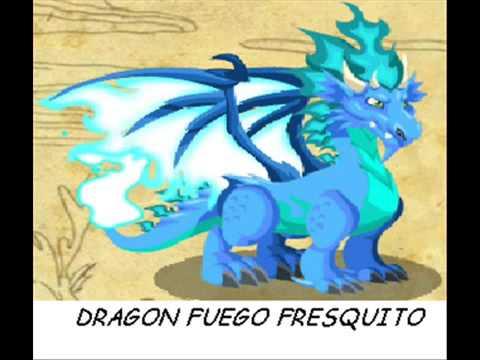 dragon city como hacer al dragon fuego fresquito. al chicle y al futbolista   YouTube