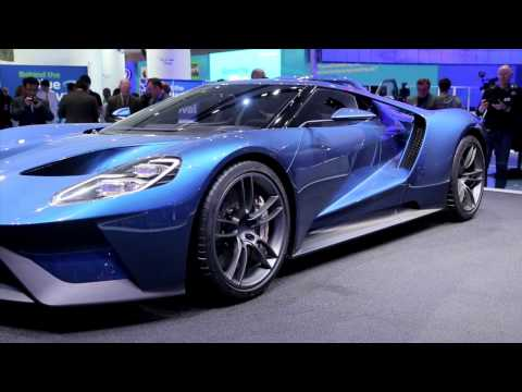 new ford gt 2015 detroit auto show image 1 50 - 2015 Ford Gt Auto Show
