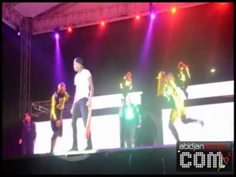 Concert de Chris Brown à Abidjan