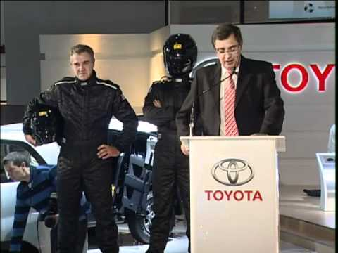 Imperial Toyota Dakar Rally 2012 announcement