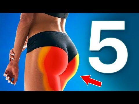 5 лучших упражнений для ног и ягодиц [Workout   Будь в форме]