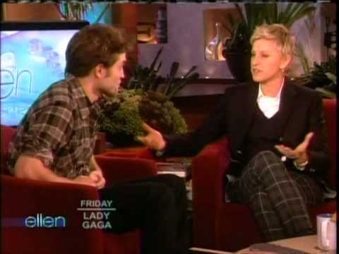 New Moon's Robert Pattinson on The Ellen DeGeneres Show Friday Nov 20 2009 Part 1 of 2