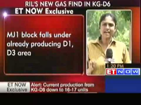 RIL makes new Gas Discovery in KG-D6 Basin
