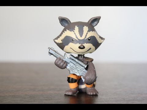 Rocket Raccoon Guardians of the Galaxy Mystery Mini review