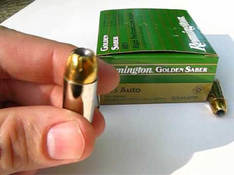 Ammo Test  .45 ACP - 230 Gr. Golden Saber