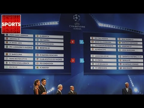 Champions League Draw 2016 [Who Got Screwed?]
