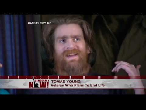 Dying Iraq War Veteran Tomas Young Reacts to George W. Bush Joke About Missing WMDs