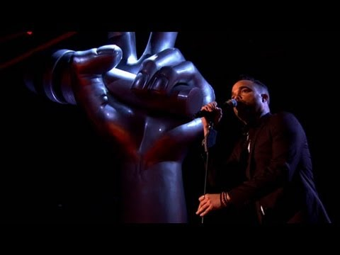 The Voice UK 2013 | Nate James performs 'Crazy' - Blind Auditions 5 - BBC One