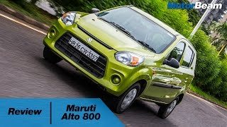 2016 Maruti Alto 800 Review | MotorBeam