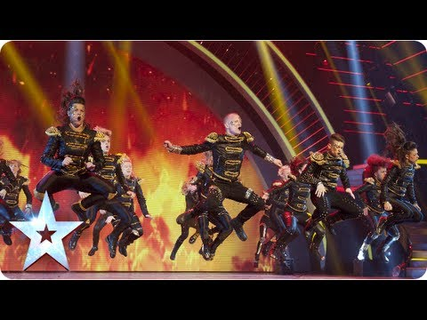 MD dance troupe strut their stuff | Semi-Final 2 | Britain's Got Talent 2013