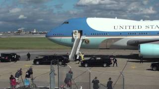 Air Force 1 Landing and Takeoff
