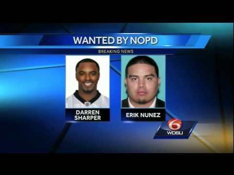 NOPD issues arrest warrant for Darren Sharper on 2 charges of rape