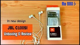 JBL C100SI In-depth REVIEW | budget earphone