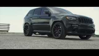 "Jeep Cherokee SRT8 on 22"" Velgen Wheels VMB5"