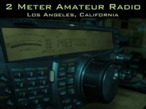 Ted KC6PQW IDs on the 147.435 repeater, W6NUT ham radio