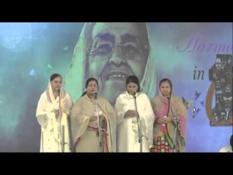 Nirankari Raj Mata Ji Dedicate Song In 67th Annual Nirankari Sant Samagam video