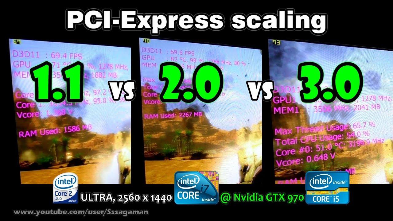 Pci express 2.0 x8 slots