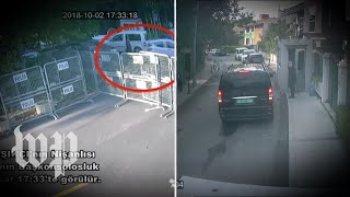Video claims to show chain of events in Istanbul on day of Khashoggi's disappearance