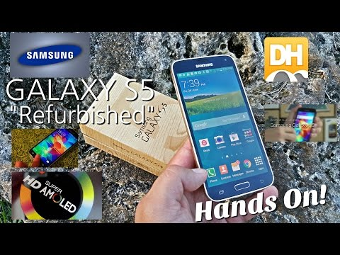 Samsung Galaxy S5 - Unlocked - Affordable Chinese Refurbished Smartphones???