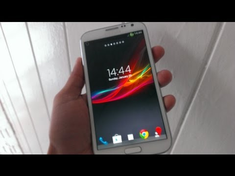 How To Install Xperia Z Launcher On Galaxy S2s3notenote 2
