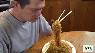 Ăn mì bay cay ở Mỹ -  mì bay là sao ? fly noodles