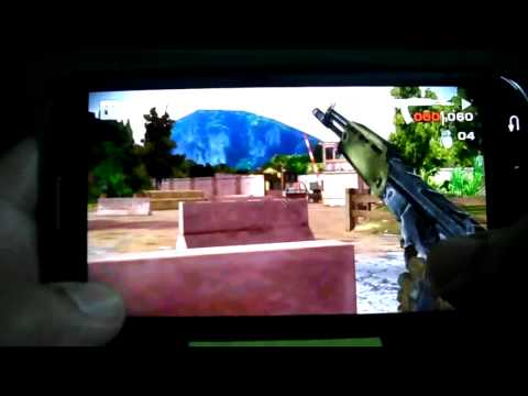 SAMSUNG GALAXY S3 BATTLE FIELD BAD COMPANY 2 GAMEPLAY