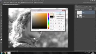 как раскрасить черно белое видео