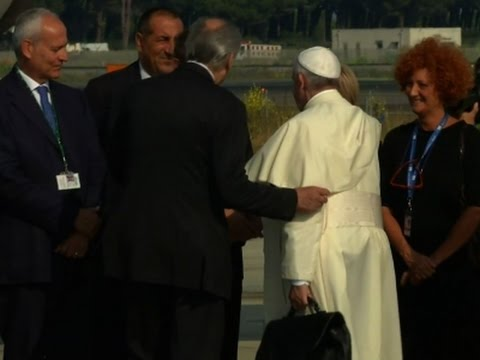 Raw: Pope Francis Departs for South America