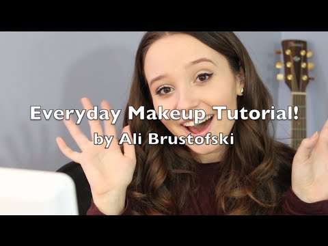 Everyday Makeup Tutorial! - Ali Brustofski